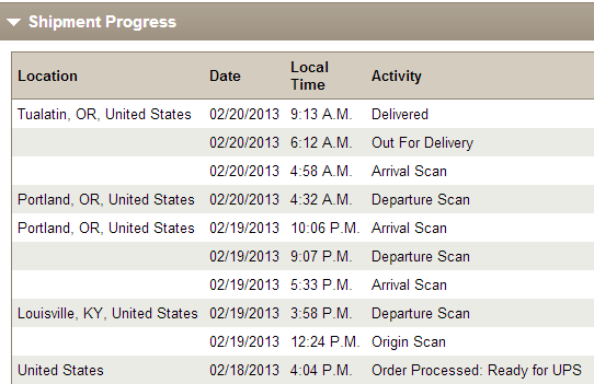 ups from google