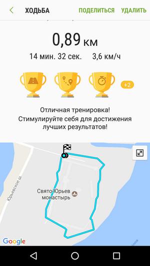 GPS track GearS3